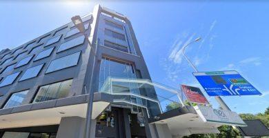 Edificio que alberga el Alpha Educational Institute en NZ
