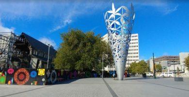Foto de la Ciudad de Christchurch en Nueva Zelanda ideal para estudiar ingles en NZ