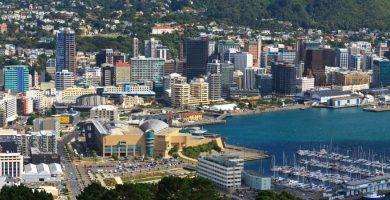 Cursos de Inglés en Wellington Nueva Zelanda gran metrópolis