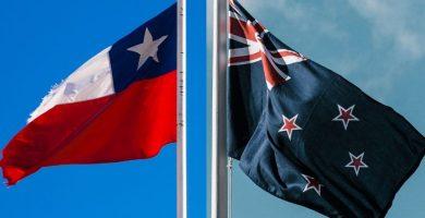 banderas Emigrar a Nueva Zelanda desde Chile