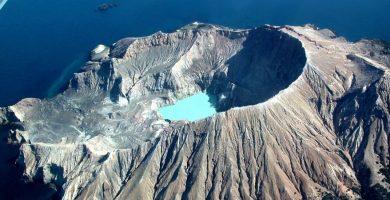 Volcan en NZ
