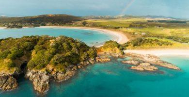Nueva Zelanda playas hermosas