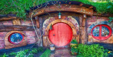 aldea de Hobbiton en Nueva Zelanda