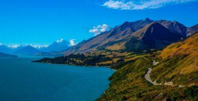 Bonito paraje de Nueva Zelanda