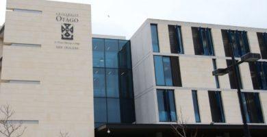 Entrada al centro de Idioma de la Universidad de Otago