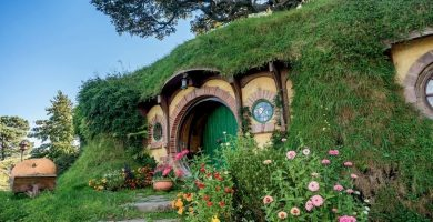 Curiosidades NZ, casa de la película señor de los anillos